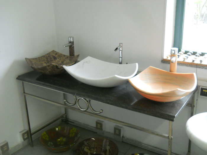 Foto lavori marmo lo scalpellino - Arredo bagno legnano ...