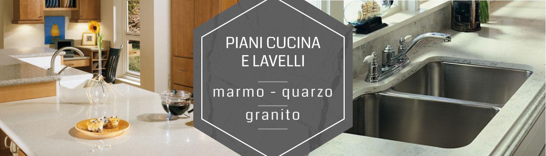 Piani cucina marmo granito Castano Busto Legnano Novara